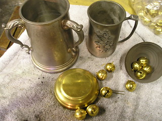Tankards &c Before Assembly