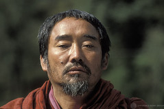 Portrait of monk. Bhutan | by World Bank Photo Collection