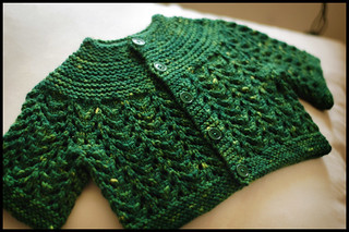 February Baby Sweater/Baby Sweater on 2 Needles (EZ) | by brooklyntweed