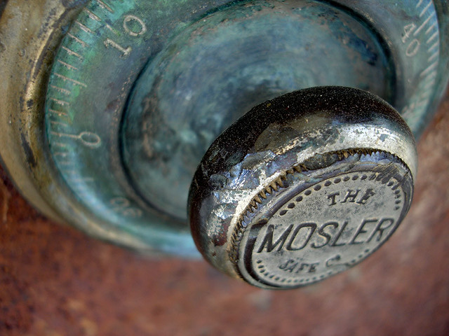 Mosler Safe   The safe is closed and locked    Dave Barger