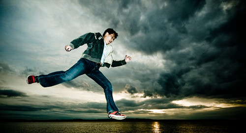 sky selfportrait me water clouds 1025fav washington jump 100v10f 2550fav lakewashington danny kirkland day159 365days marshpark 365explored belikepoo flickr:user=poopoorama