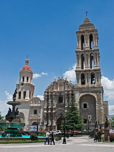 old church mexico temple catholic cathedral antique catedral iglesia igreja oldcity coahuila saltillo arquitecture