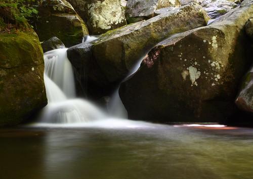longexposure white water waterfall nc moss rocks northcarolina cascade naturephotography southmountainsstatepark burkecounty jacobsforkriver davidhopkinsphotography ncpedia