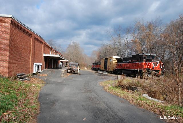 Passing Lyman's Cider Mill.
