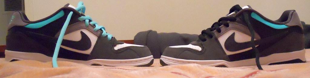 Nike 6.0 Air Zoom Oncore Shoe Dark Shadow Black