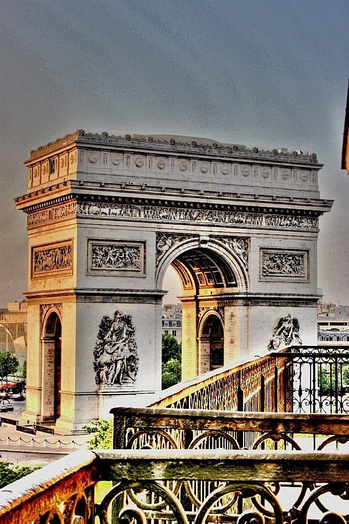 HDR Arc De Triomphe