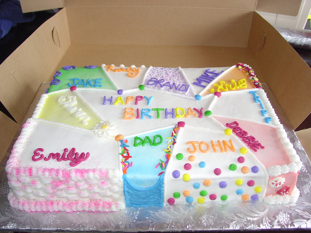 Birthday Cake For Multiple People
