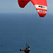 Image: Paragliding over the Open Ocean