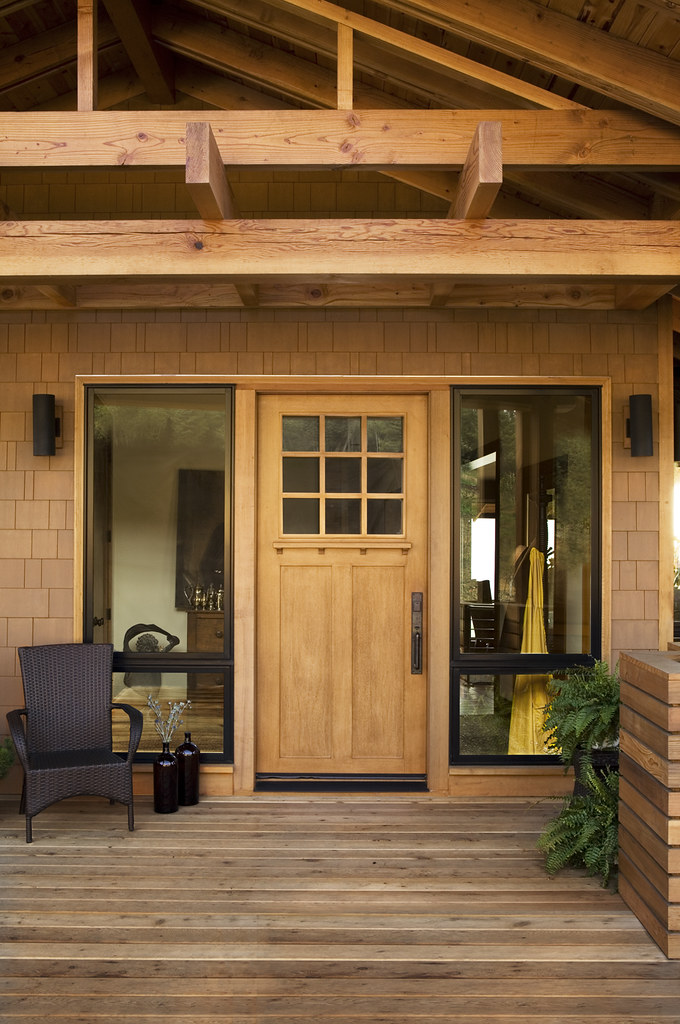 Front Porch With Custom Jeld Wen Exterior Door Jeld Wen Windows Doors Flickr