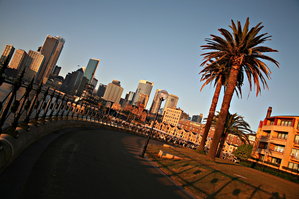 Image: The Quay from Dawes Point