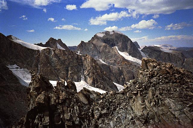 Fremont Peak, Wind Rivers Range, Rocky Mountains, Wyoming