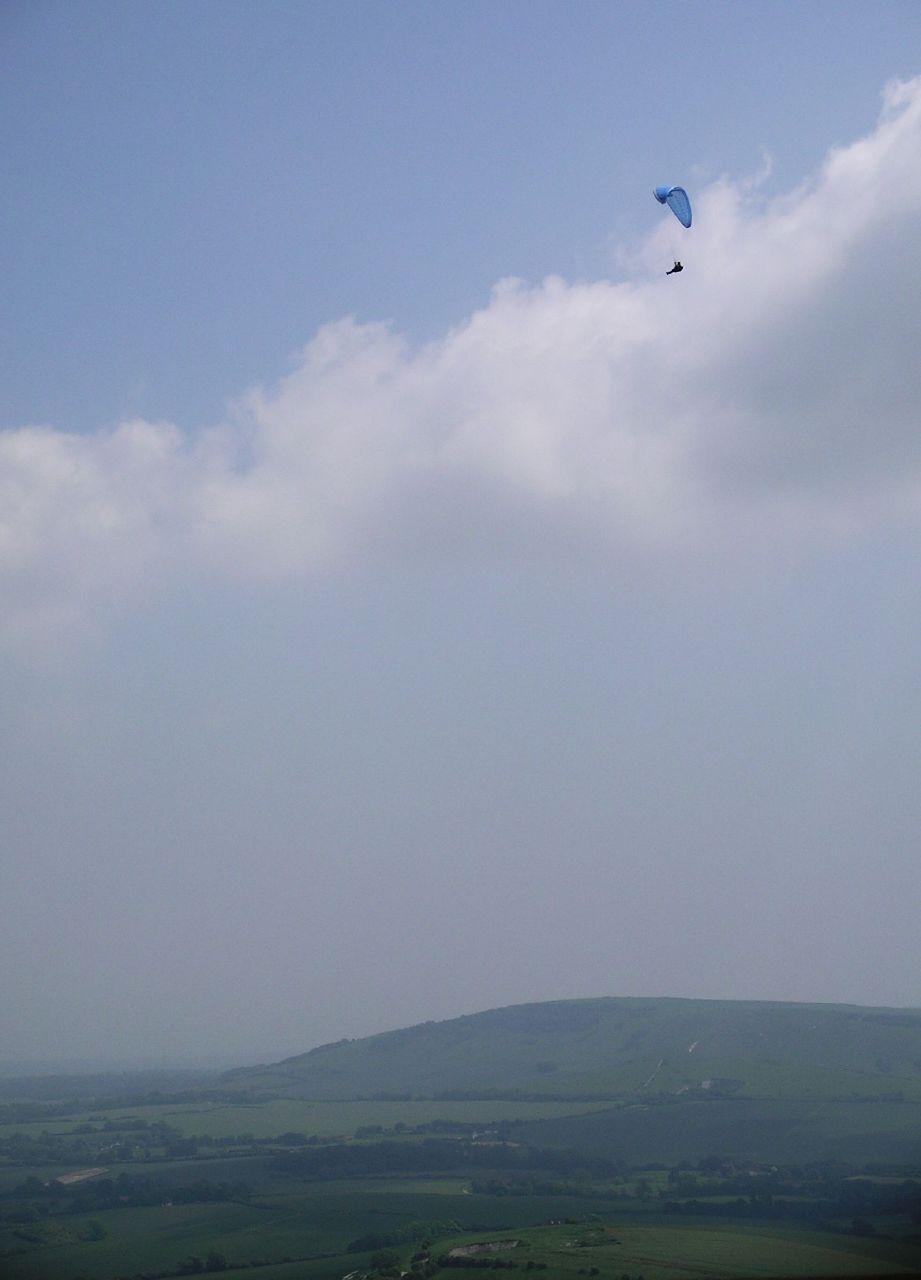 Book 1, Walk 31, Glynde to Seaford 3 Cloudsurfer, 10 June '07.