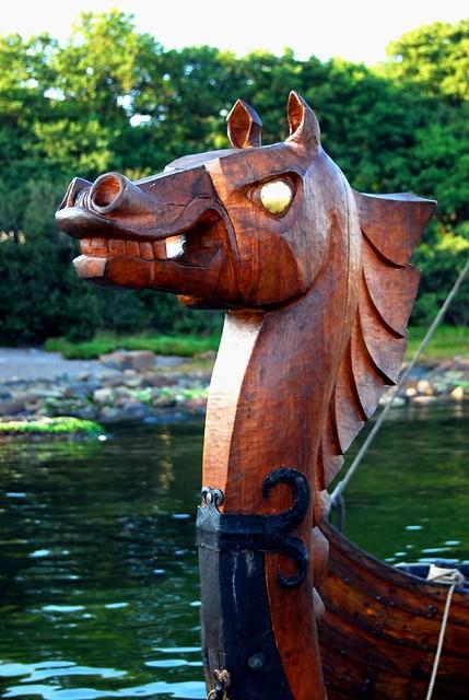 Viking figurehead | The figurehead of the replica longship G… | Flickr