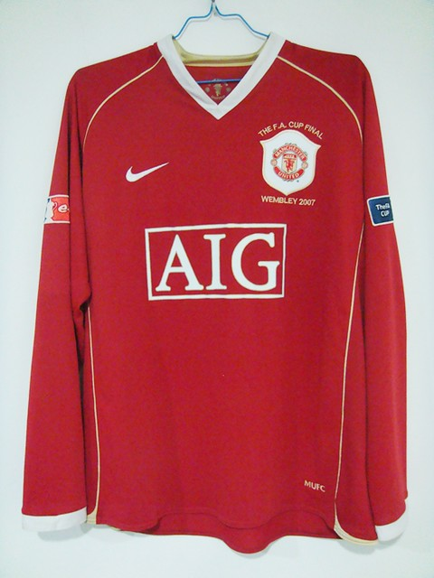 new arrival 34fe2 84a33 MANCHESTER UNITED HOME 06/07 RONALDO 7# | Home shirt as worn ...