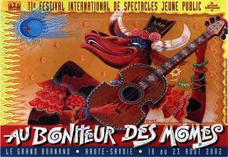Affiche Festival Au Bonheur des Momes-2002 | by Le Grand-Bornand