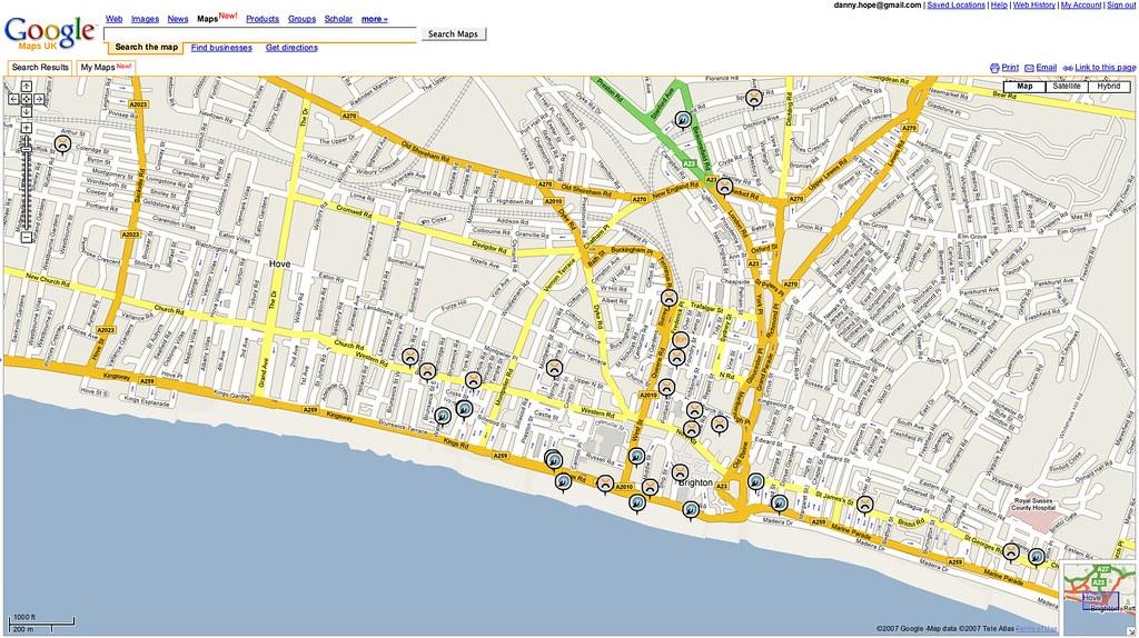 Sus Digital Map (viewed in Google Maps UK) | Yandle | Flickr on google traffic, google elevation data, library of congress digital maps, google statistics, google digital wallet,