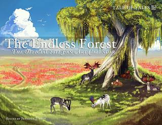 The Endless Forest - Official 2011 Fan Art Calendar