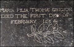 Maria the daughter of Thomas Gordon