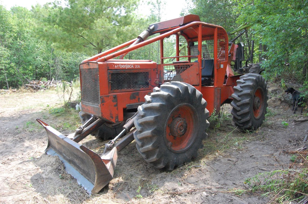 Timberjack cable skidder - a photo on Flickriver