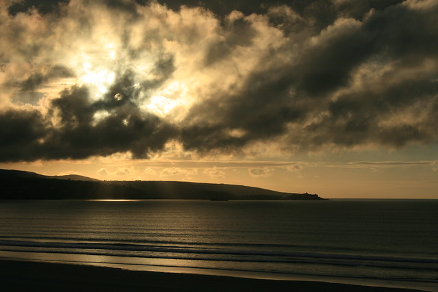 Evening light over St Ives, Cornwall