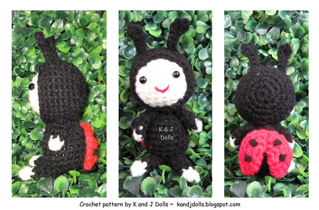 Amigurumi LadyBug Crochet Pattern » Amigurumi Crochet Patterns By ... | 674x1024