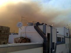 Catastrophic Fire in Gran Canaria Seen from El Tablero de Maspalomas | by elsua