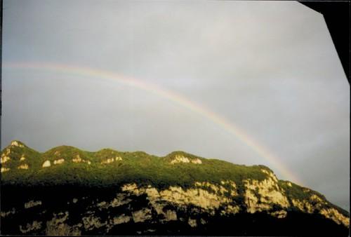 Monte San Giorgio Rainbow | by amanderson2