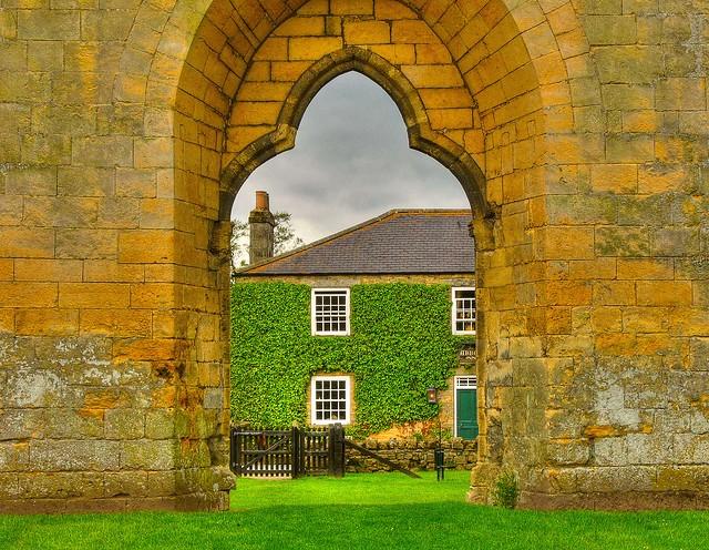 House Thru a Doorway
