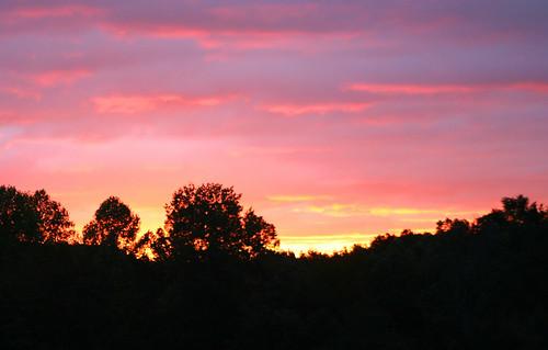 red orange sun color yellow sunrise canon
