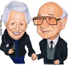 Rose and Milton Friedman