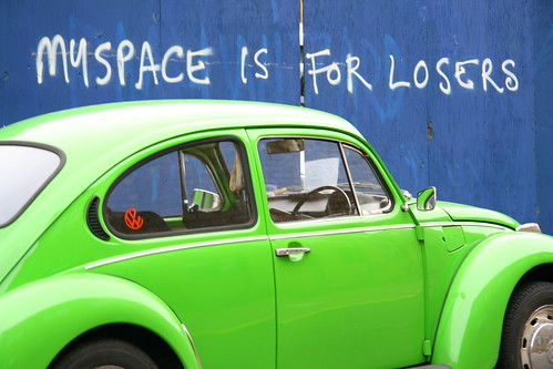 myspace is for losers | by captain simon's mandolin