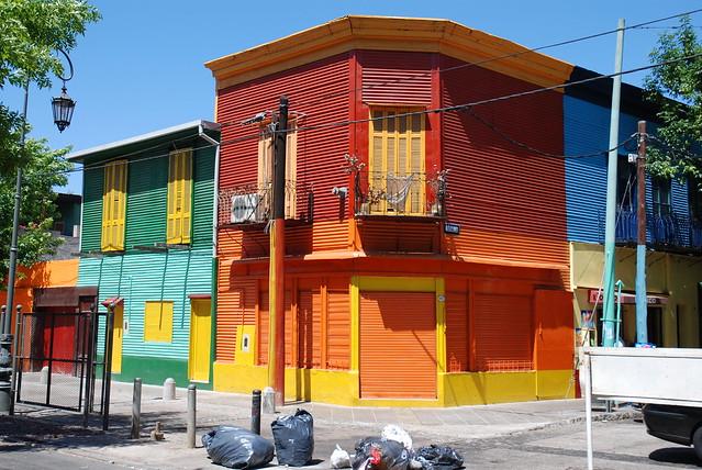 Buenos Aires:  La Boca/Caminito  JMM000850
