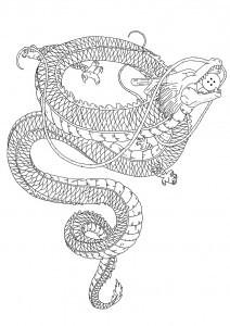Tattoo bedeutung drachen Das Drachen