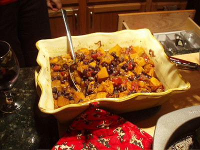 Sweet potatoes with black beans | by poco-cocoa
