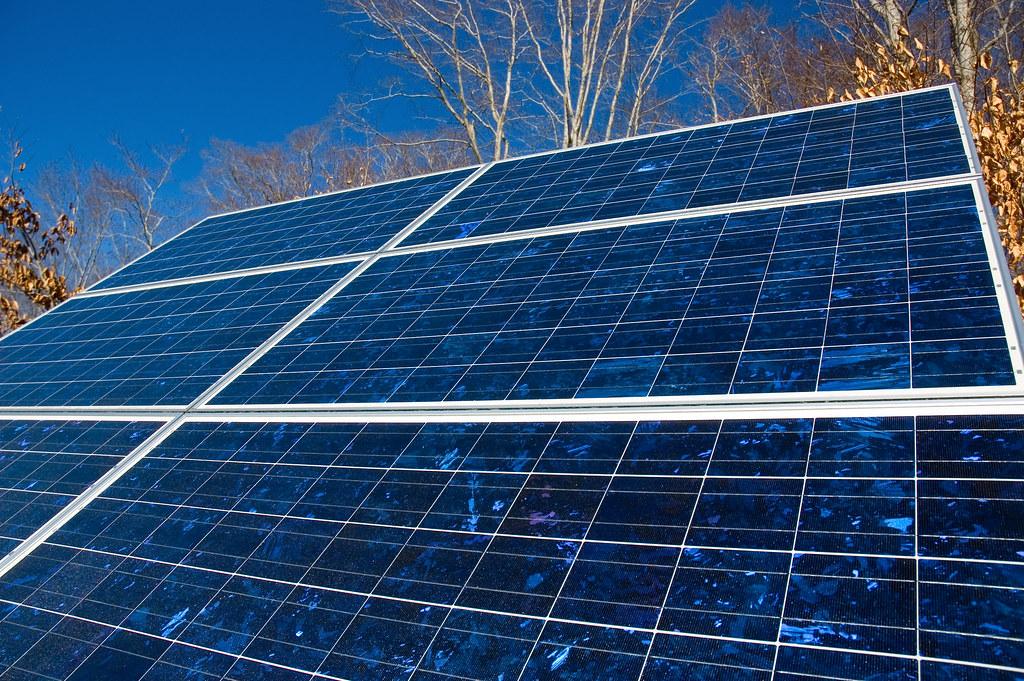 Solar Panels Polycrystaline Photo Voltaic Cells Energy