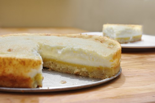 rich acorn squash layered souffle-cheesecake   by aarn!