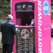 an airtime charging booth