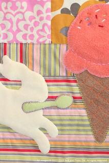 jeni's ice cream quilt—detail