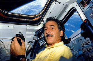 Jeffrey Hoffman - the experience of travelling in space | by newscientistmagazine