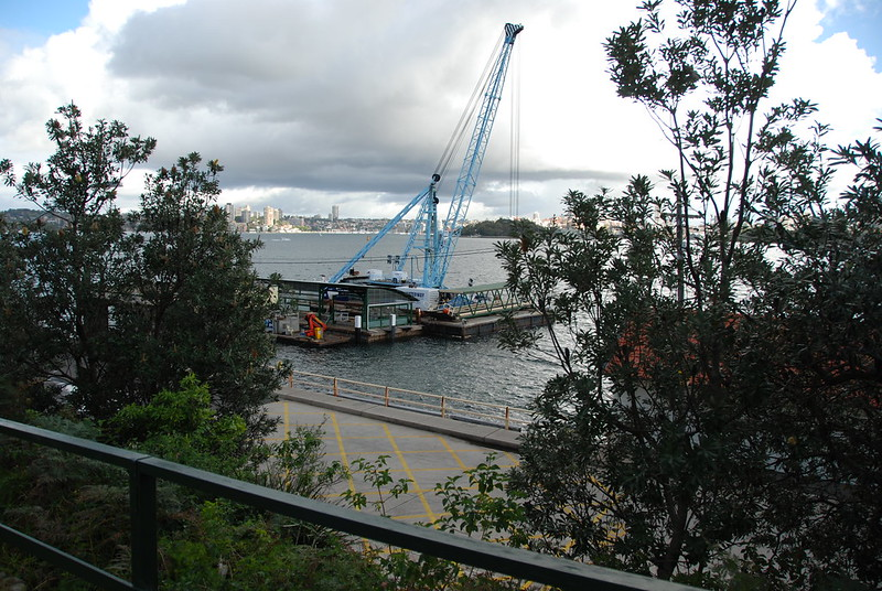 Cremorne Point Warf: Repairs
