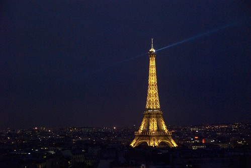 Eiffel Tower at night | by skipnclick