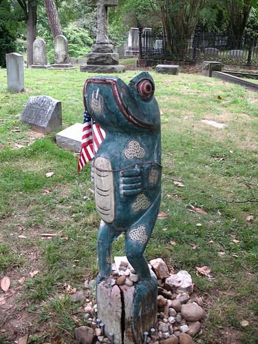 Mystious Frog Tombstone