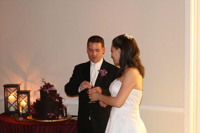 Happy Couple with Cake