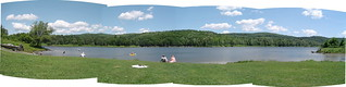 Wrightsville Reservoir panoramic (redux) | by found_drama