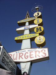 Jim's Burgers on Atlantic, plastic sign | by jericl cat