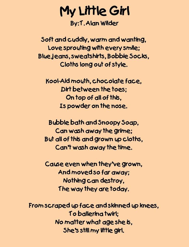 Poems For Little Girl 5
