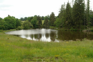 A small lake in the Margeride | by GOC53