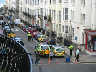 Waterloo street, cordoned off | by adactio