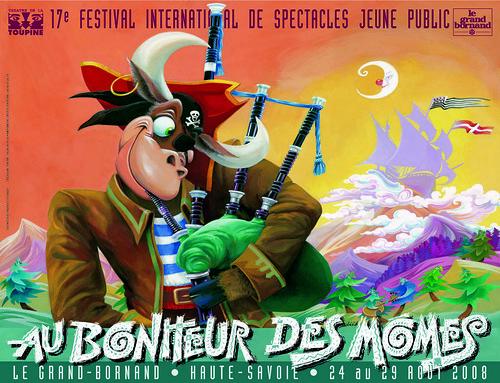 Affiche Festival Au Bonheur des Momes-2008 | by Le Grand-Bornand