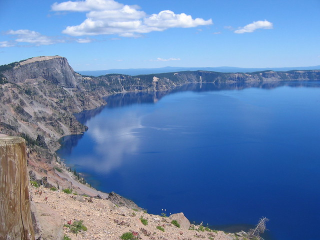 Crater Lake Walls